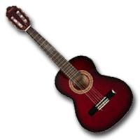 Balkezes 1/2-es klasszikus gitárok, 7-10 éves korig