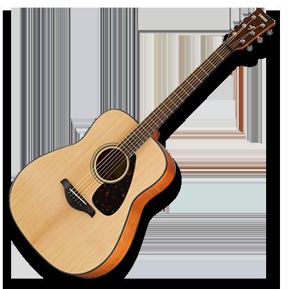 Normál felnőtt méretű akusztikus gitárok