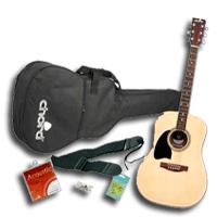 Balkezes akusztikus gitár szettek